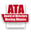 ATA Board of Directors Meeting Minutes