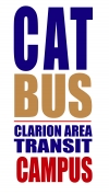 ATA CAT BUS CAMPUS LOOP LOGO